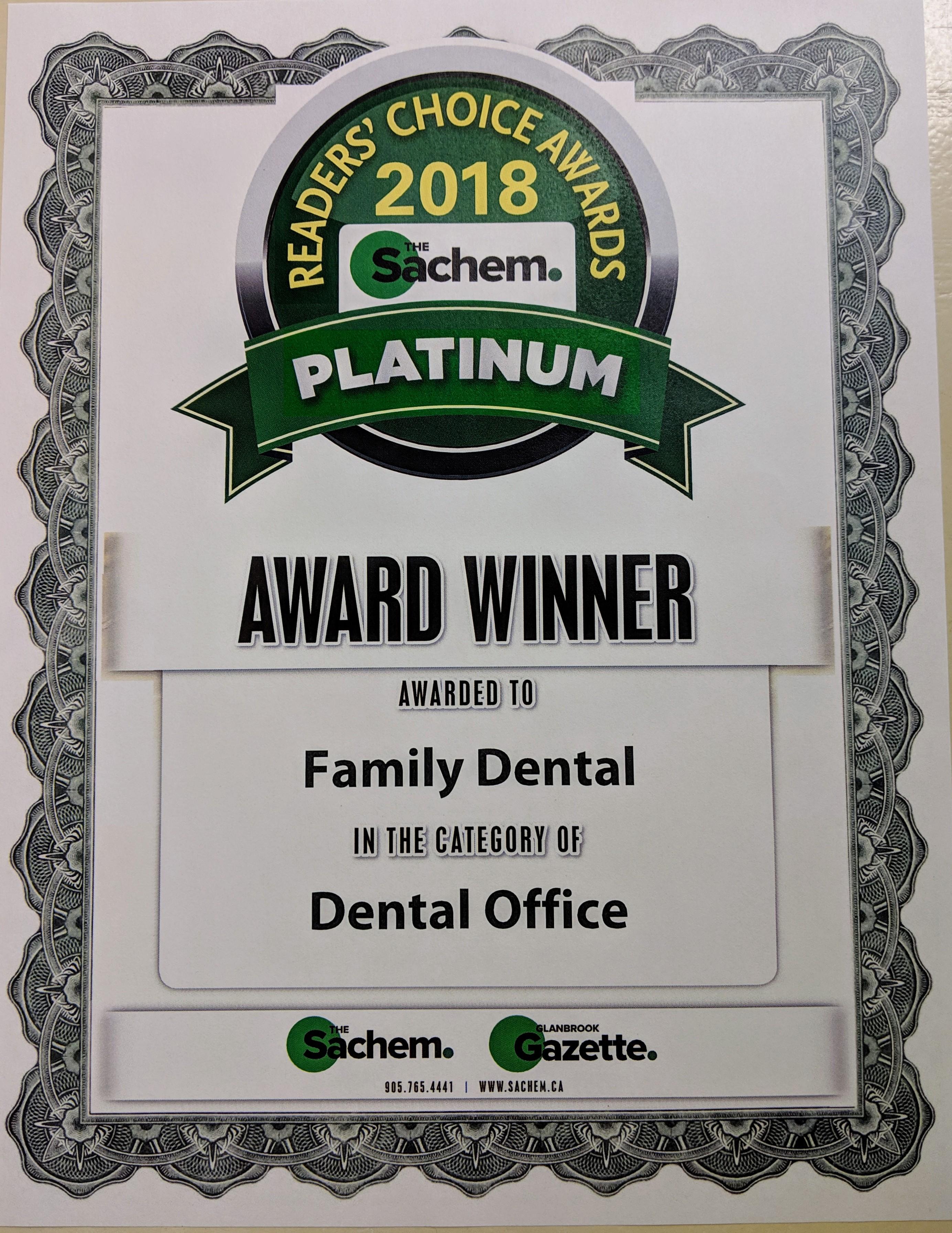 Award Winning Care